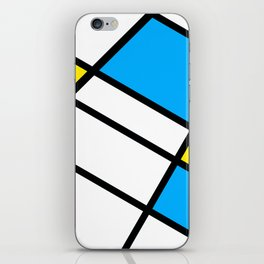 Related Colored Lines iPhone Skin