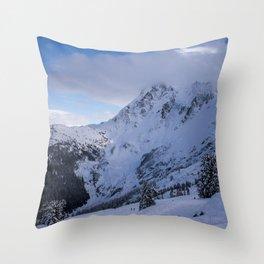 Mt Baker Wilderness Throw Pillow