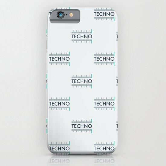 Techno iPhone & iPod Case