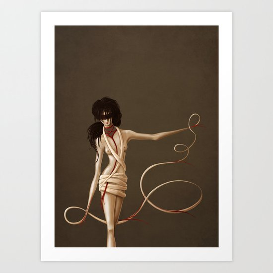 Self Bound Art Print