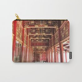 Red Asian Palace Carry-All Pouch