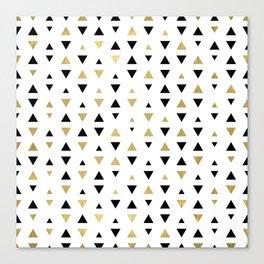 Golden Design - Triangel #1 Canvas Print