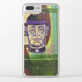 The Devil is a Brat Clear iPhone Case