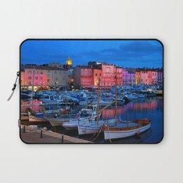 St Tropez Eve Laptop Sleeve