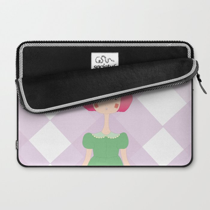 the bunny Laptop Sleeve
