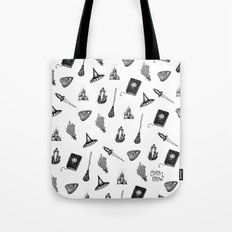 Witchy Pattern - coracrow Tote Bag