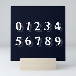 NUMBERS (TEACHING) Mini Art Print