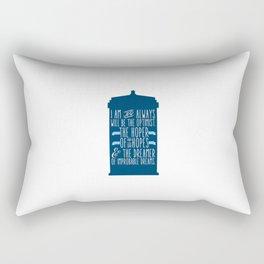 Far-Flung Hopes Rectangular Pillow