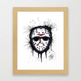 The Horror of Jason Framed Art Print