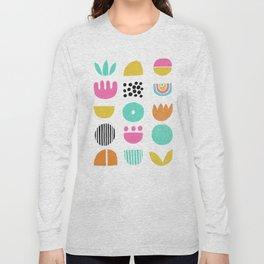 SIMPLE GEOMETRIC 001 Long Sleeve T-shirt