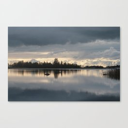 Passing Day Canvas Print