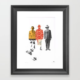 Paper Gangster Framed Art Print