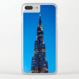 Burj Khalifa Clear iPhone Case