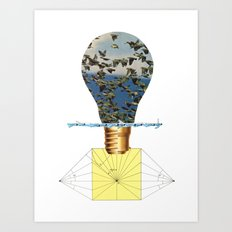 Ideas Come, Ideas Go Art Print