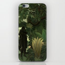 "Henri Rousseau ""The Snake Charmer"", 1907 iPhone Skin"