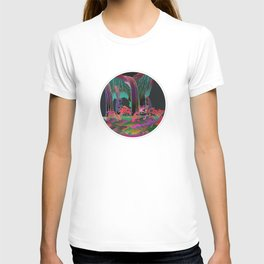Reincarnation - Neon Waterfalls T-shirt