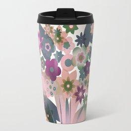 bouquet mothersday valentine hearts vintage Travel Mug