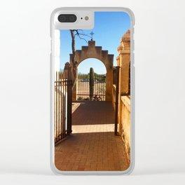 San Xavier 3 Clear iPhone Case