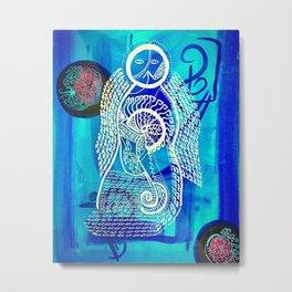Goddess Symbolism Submerged  Metal Print