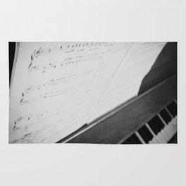 Debussy Claire de Lune Piano sheet music Rug