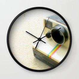 Polaroid Camera Wall Clock