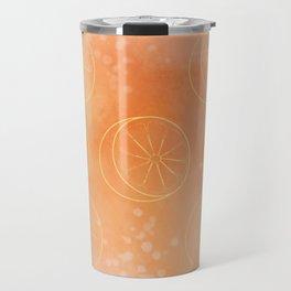 Tangerine Time! Travel Mug