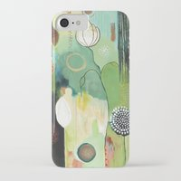 """flora bowley iPhone & iPod Cases featuring """"Fly Home"""" Original Painting by Flora Bowley by Flora Bowley"""