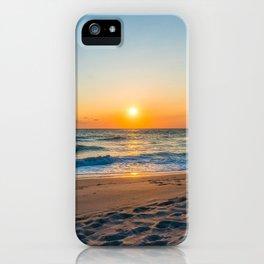 Canaveral National Seashore Sunrise iPhone Case