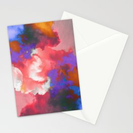 Colorful clouds in the sky II Stationery Cards
