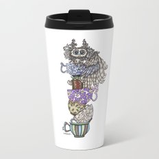 Owlice Wants Another Cup of Tea Travel Mug