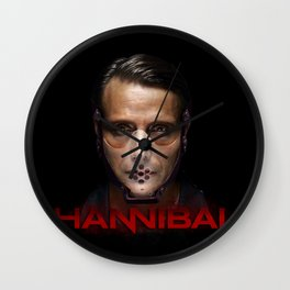 Hannibal Masked Wall Clock
