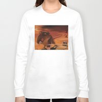 rat Long Sleeve T-shirts featuring Rat by Brandon Heffron