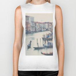 winter in Venice ... Biker Tank