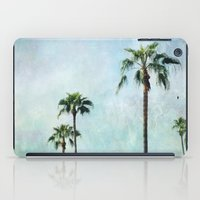 palm trees iPad Cases featuring Palm trees by Sylvia Cook Photography