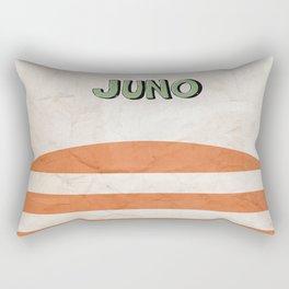 Juno - Alternative Movie Poster, classic movie, funny movie, minimal movie poster Rectangular Pillow