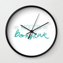 Les Recettes du bonheur  - LOVE Wall Clock