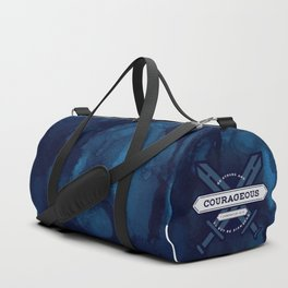 1 CHONICLES - BE STRONG AND COURAGEOUS Duffle Bag