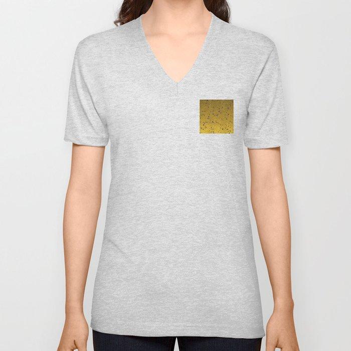Confetti & Gold Festive Unisex V-Neck
