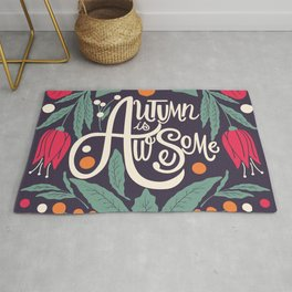 Autumn is awesome 002 Rug