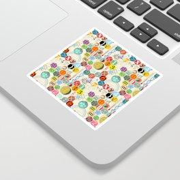 Math in color (little) Sticker