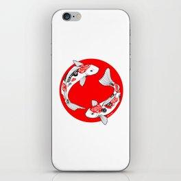 Japanese Kois iPhone Skin