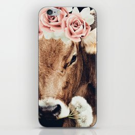 Glamour cow iPhone Skin