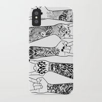 rock and roll iPhone & iPod Cases featuring rock & roll  by jun salazar