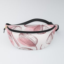 Round Leaves 4 Fanny Pack