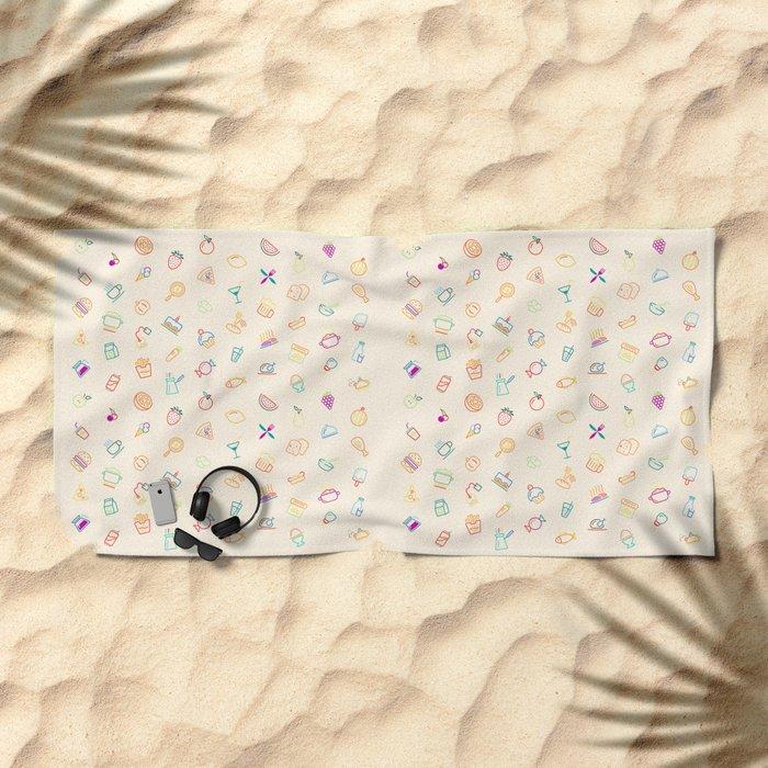 Kitchen Beach Towel