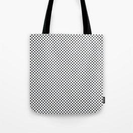Dark Shadow Polka Dots Tote Bag