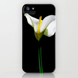 White Lillys iPhone Case