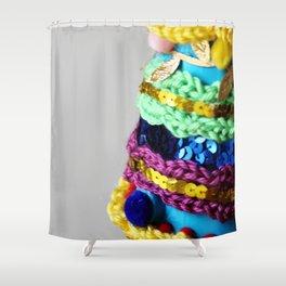 Pomnament (detail) Shower Curtain