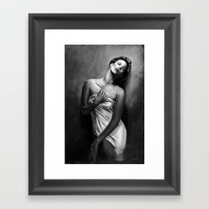 Charlize Theron Framed Art Print