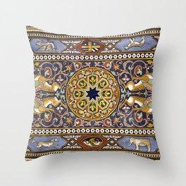 SICILIAN ART DECO Throw Pillow